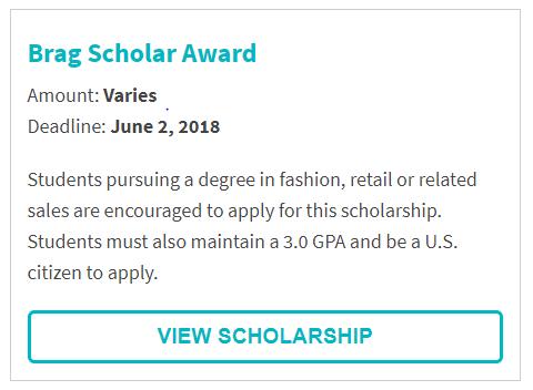 Brag Scholar Award