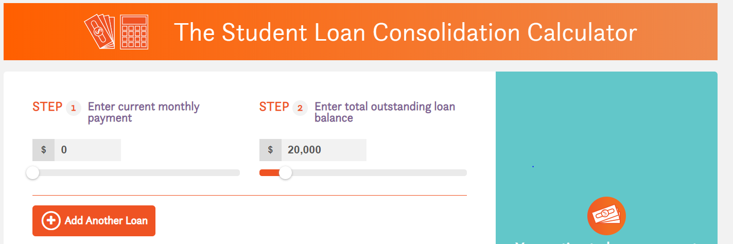 consolidation calculator