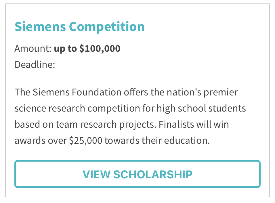 Siemens Competition