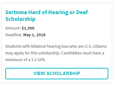 Sertoma Hard of Hearing or Deaf Scholarship.png