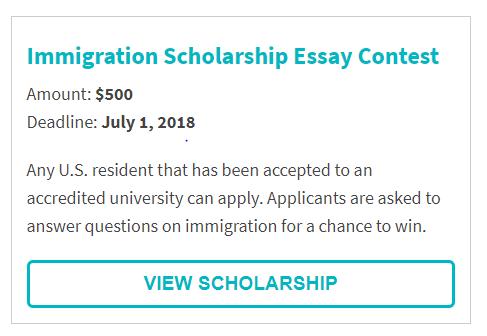 USAttorneys.com Immigration Scholarship Essay Contest