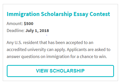 USAttorneys.com Immigration Scholarship Essay Contest